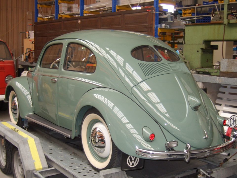 Vw Cox Split Window 1953 Styleinside